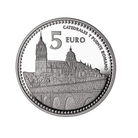 "2012. Capitales provincia. 5 euros ""Salamanca"""