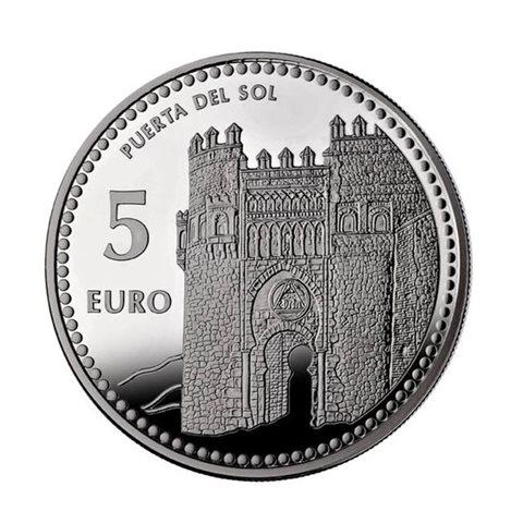 "2012. Capitales provincia. 5 euros ""Toledo"""