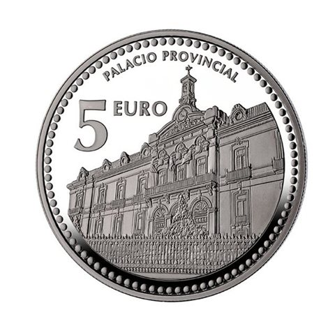 "2012. Capitales provincia. 5 euros ""Jaén"""