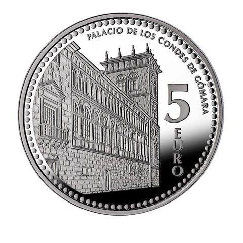 "2012. Capitales provincia. 5 euros ""Soria"""