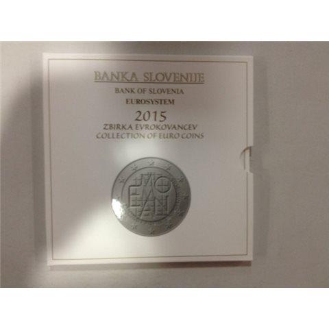 2015. Cartera euros Eslovenia