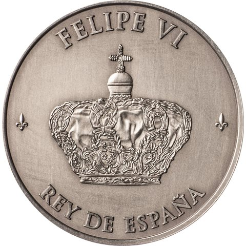 2014. Proclamación Felipe VI. Medalla