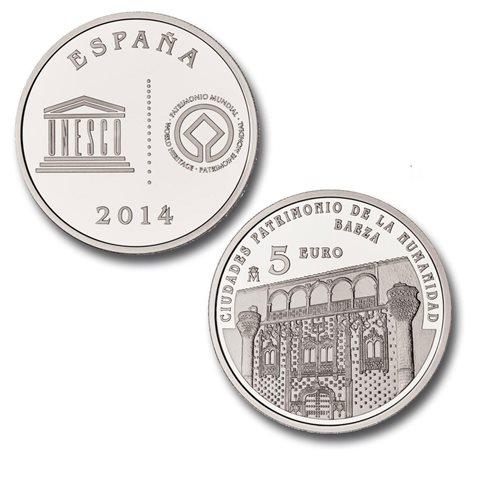 2014. Patrimonio Humanidad. Baeza. 5 euros