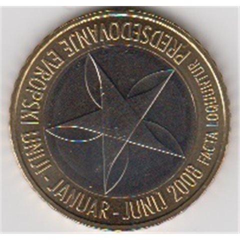 "2008. 3 Euros Eslovenia ""Presidencia Europea"""