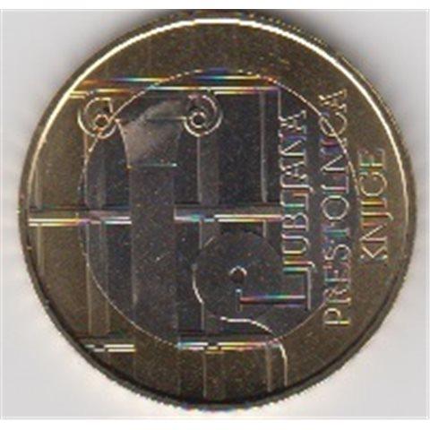 """2010. 3 Euros Eslovenia """"Capital Mundial Libro"""""""