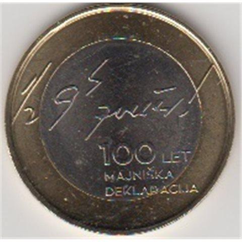 """2017. 3 Euros Eslovenia """"Declaración Mayo"""""""