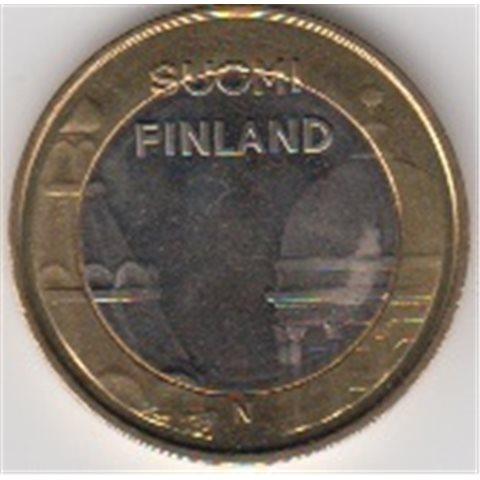 "2012. 5 Euros Finlandia ""Catedrales"""