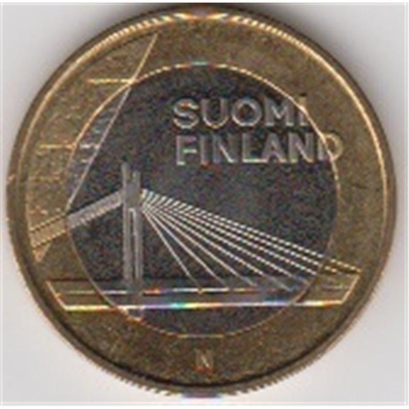 """2012. 5 Euros Finlandia """"Puente Candelas"""""""