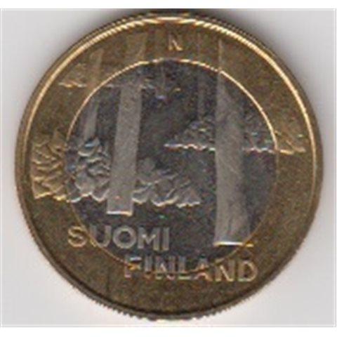 """2013. 5 Euros Finlandia """"Satakunta"""""""