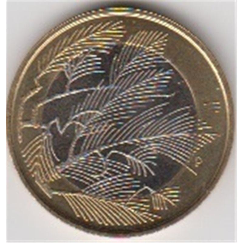 """2014. 5 Euros Finlandia """"Región Salvaje"""""""