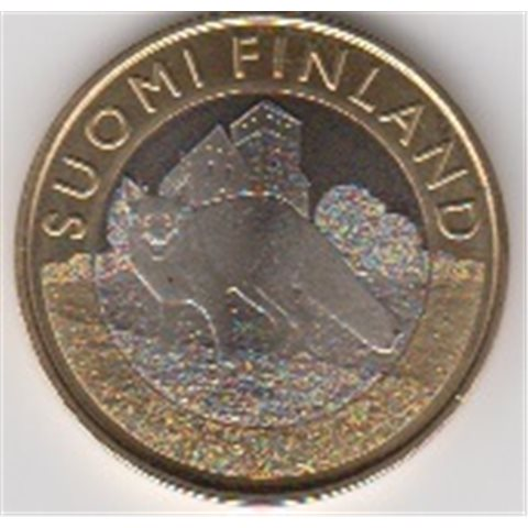 """2014. 5 Euros Finlandia """"Zorro"""""""