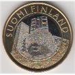 """2015. 5 Euros Finlandia """"Erizo"""""""
