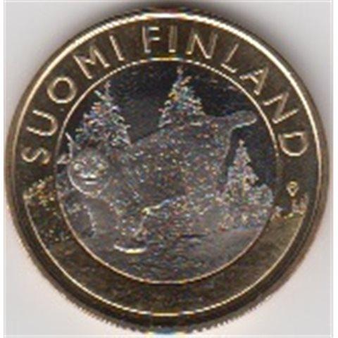 """2015. 5 Euros Finlandia """"Lince"""""""