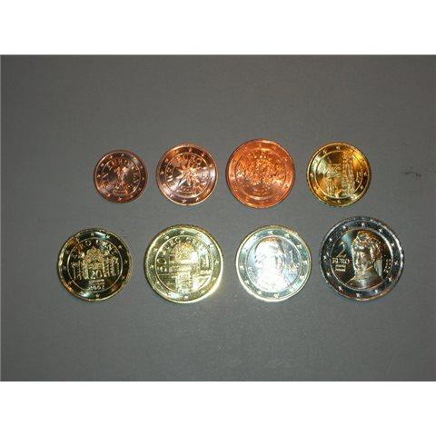 2002. Tira euros Austria