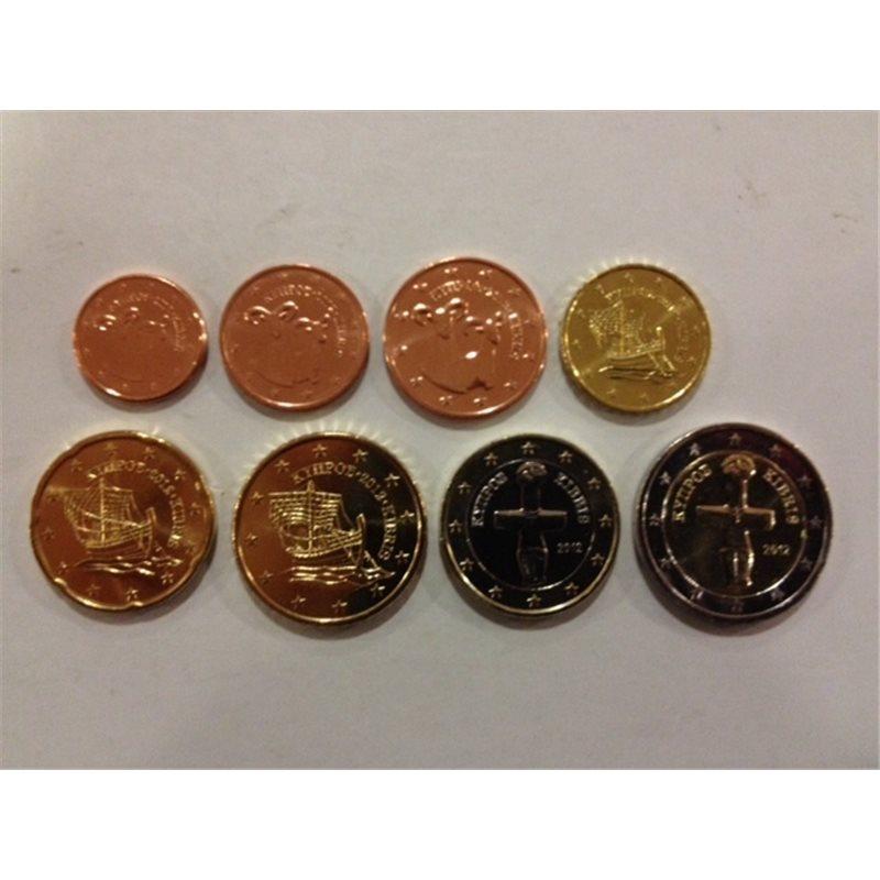 2012. Tira euros Chipre