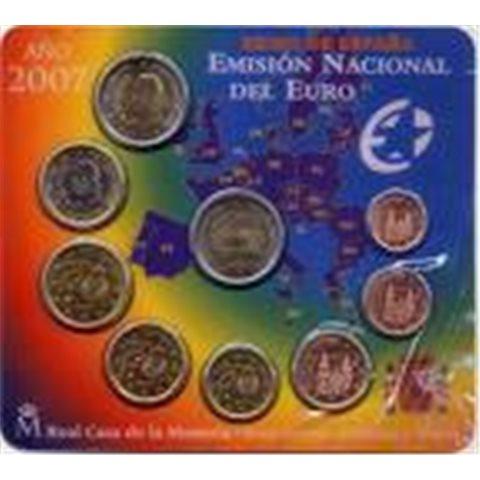 2007. Cartera euros España