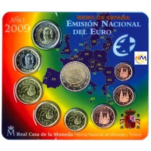 2009. Cartera euros España