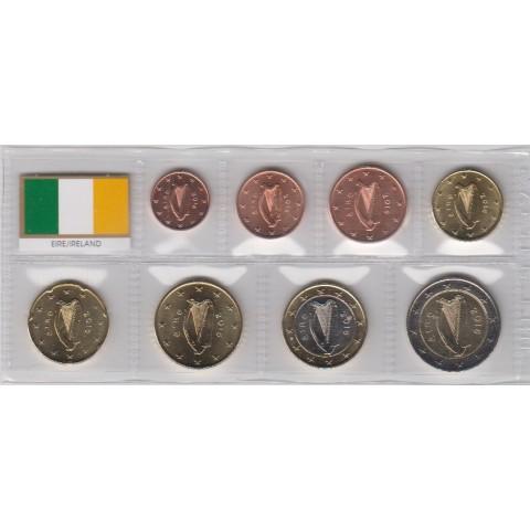 2016. Tira euros Irlanda