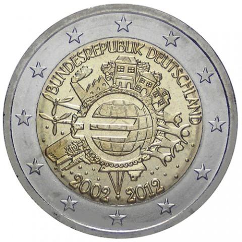 "2012. 2 Euros Alemania ""X Aniversario"""