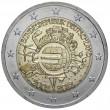 "2012. 2 Euros Alemania A-Berlin ""X Aniversario"""