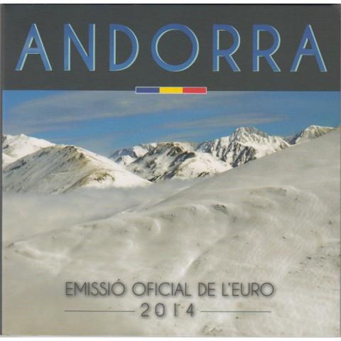 2014. Cartera euros Andorra