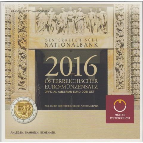 2016. Cartera euros Austria