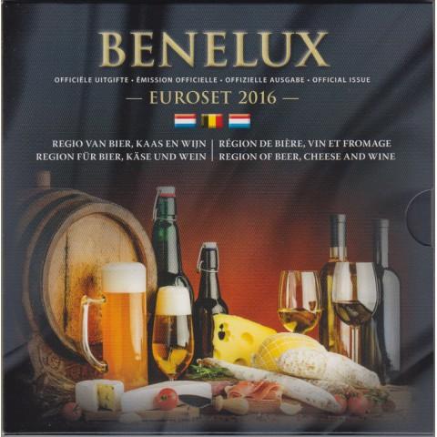 2016. Cartera euros Benelux