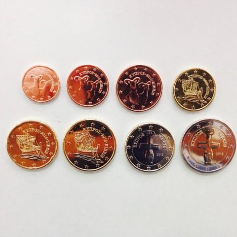 2015. Tira euros Chipre