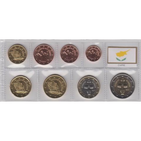 2017. Tira euros Chipre