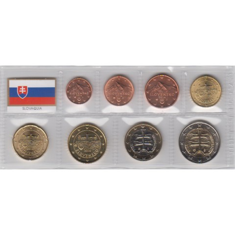 2014. Tira euros Eslovaquia
