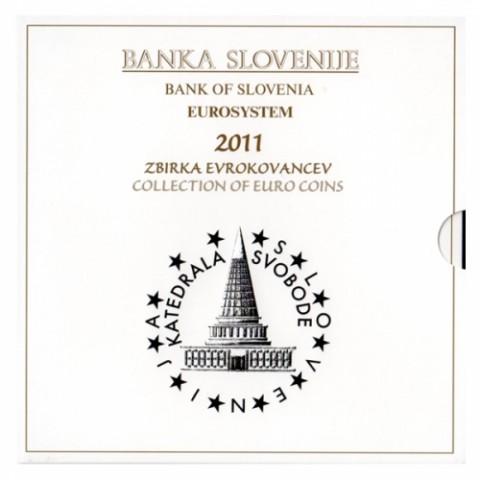 2011. Cartera euros Eslovenia