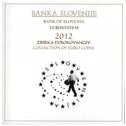 2012. Cartera euros Eslovenia