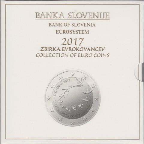 2017. Cartera euros Eslovenia