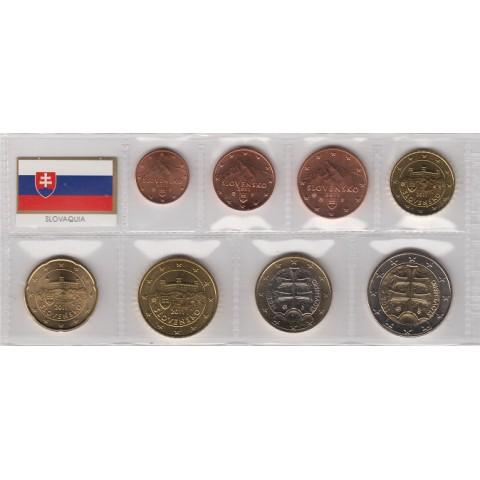 2011. Tira euros Eslovaquia