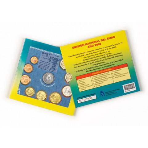 2009. Cartera euros España Autonomías. Canarias
