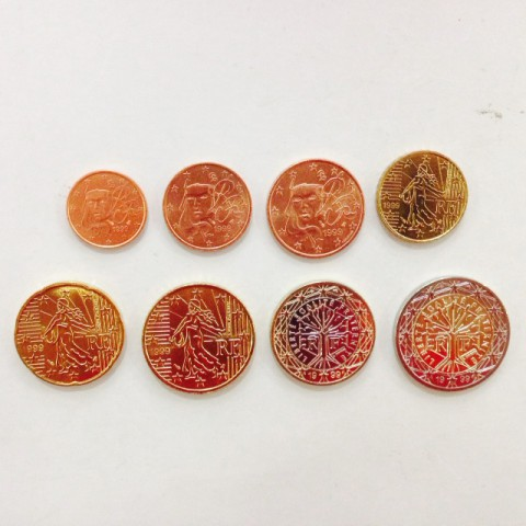 1999. Tira euros Francia