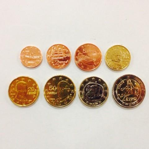 2008. Tira euros Grecia