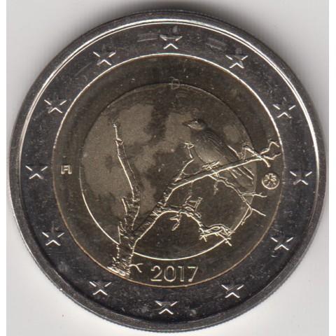 """2017. 2 Euros Finlandia""""Naturaleza"""""""