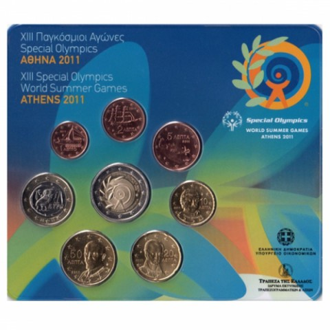 2011. Cartera euros Grecia Olimpiada