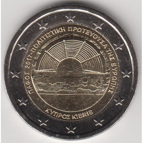 "2017. 2 Euros Chipre ""Pafos"""