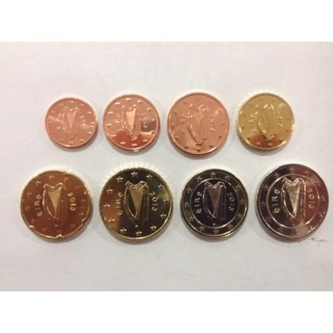 2013. Tira euros Irlanda
