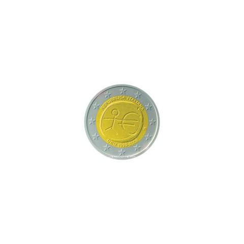 """2009. 2 Euros Italia """"EMU"""""""