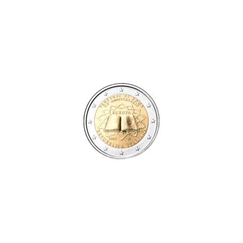 "2007. 2 Euros Italia ""Tratado de Roma"""
