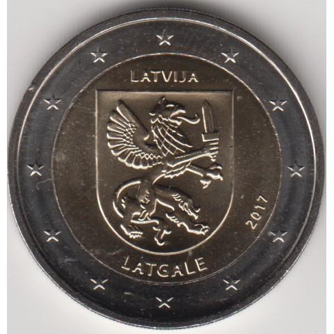 "2017. 2 Euros Letonia ""Latgale"""