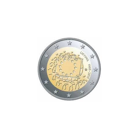 "2015. 2 Euros Lituania ""Bandera"""