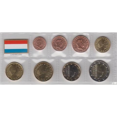 2017. Tira euros Luxemburgo