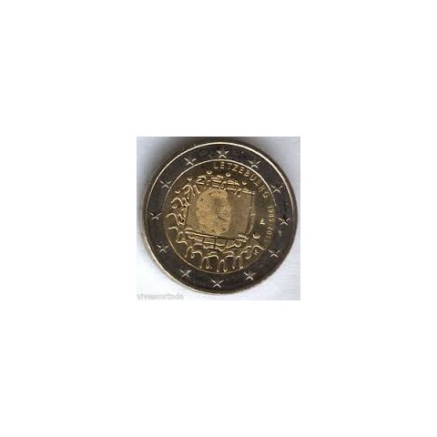 "2015. 2 Euros Luxemburgo ""Bandera"""