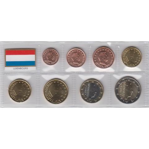 2015. Tira euros Luxemburgo