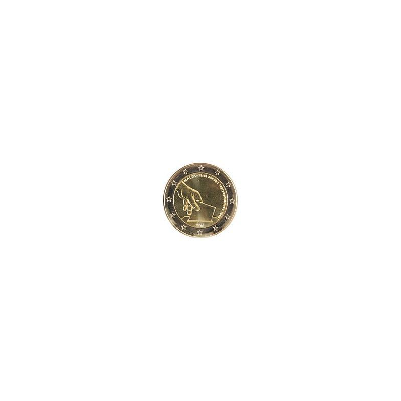 """2011. 2 Euros Malta """"Historia Constitucional"""""""