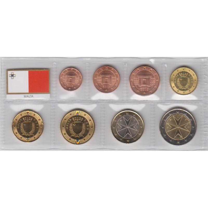 2008. Tira euros Malta